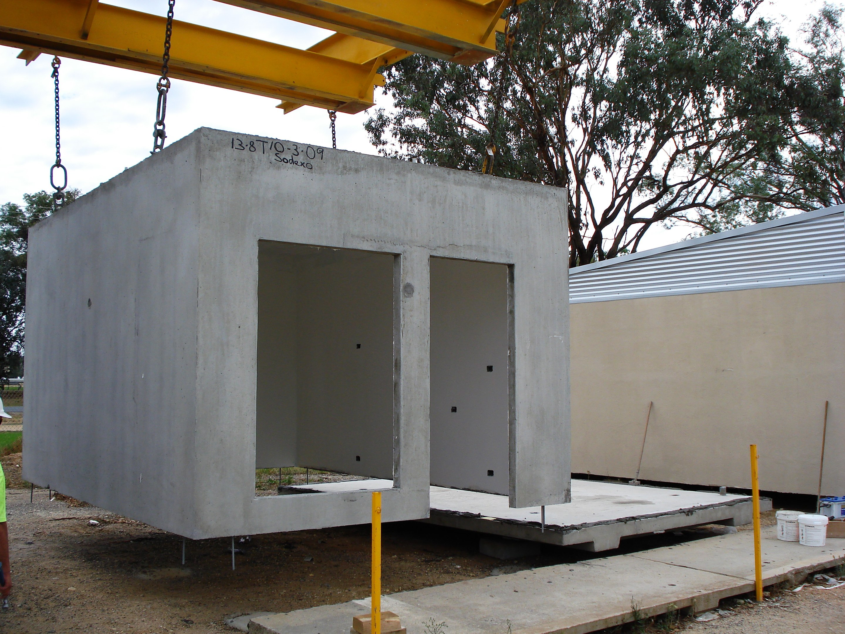 Precast concrete modules Precast concrete residential homes